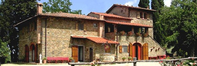 Le Centinelle, located close to Greve in the Chianti region of Tuscany.